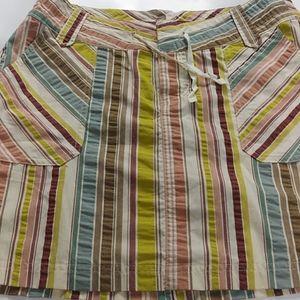 Patagonia Skirts - 🍁Patagonia Knee-Length Pinstripe Multi Skirt